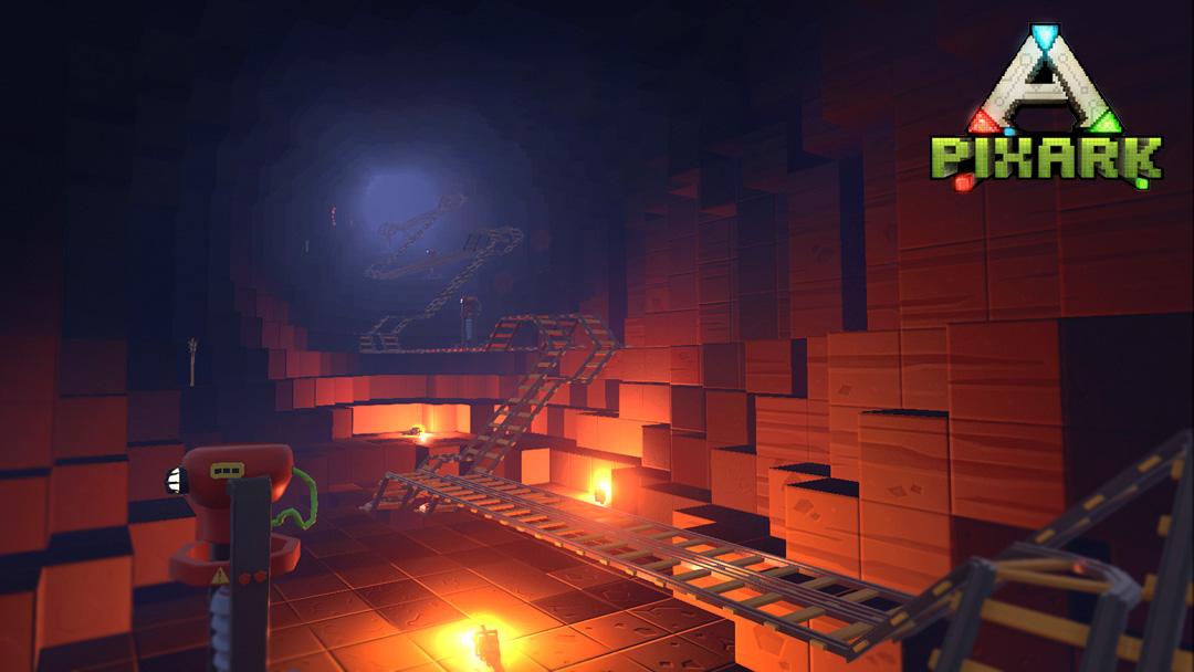 体素沙盒生存新作《方块方舟》今日steam抢先体验
